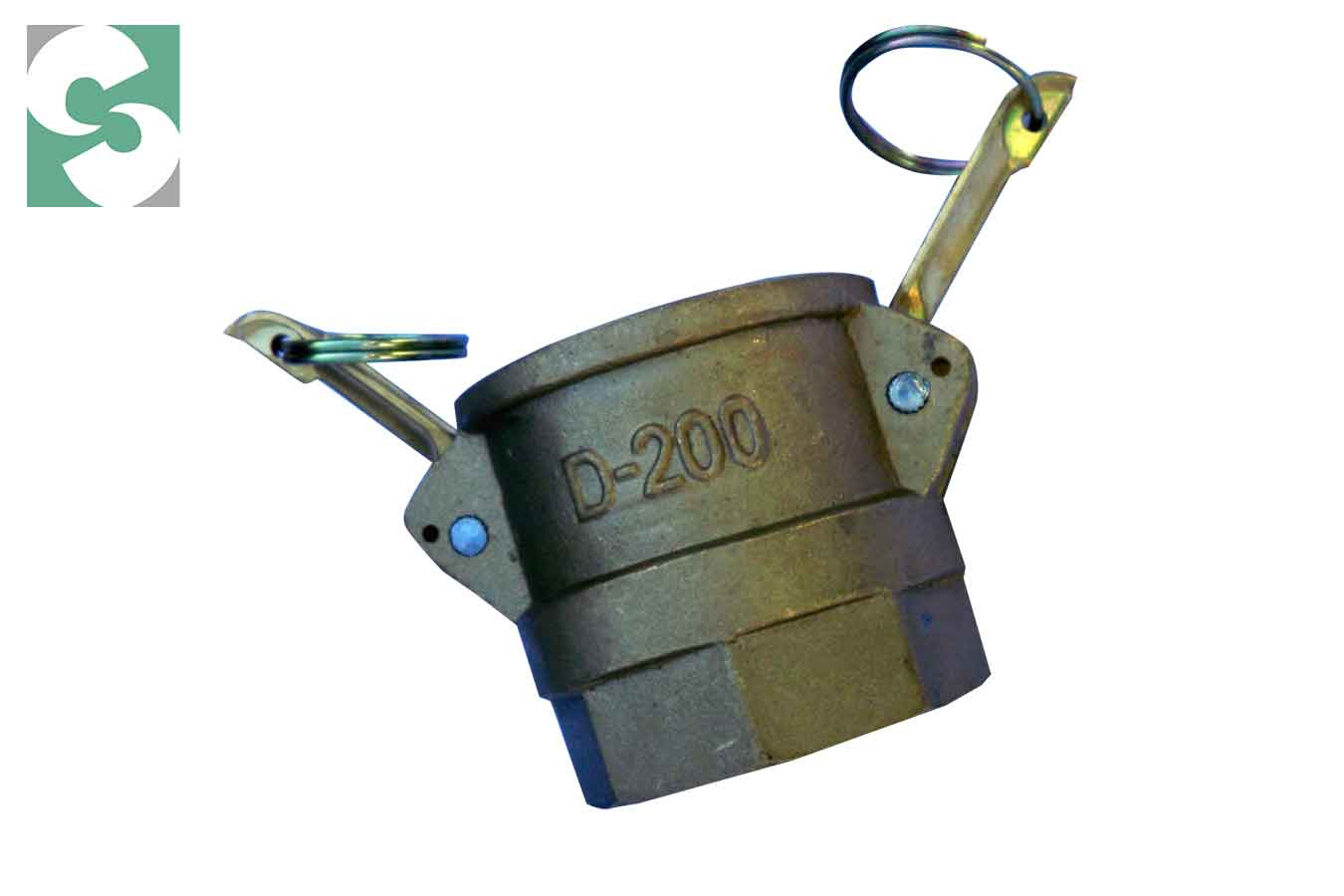 Acople Camlock Bronce Tipo D